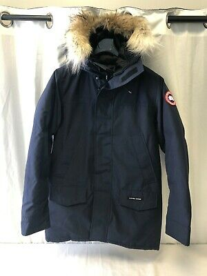 Canada Goose Men's Langford Parka 2062M Admiral Blue Size Medium (2103101232)