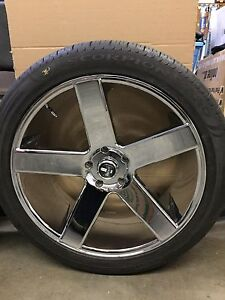"""24"""" Tires and Wheels"""