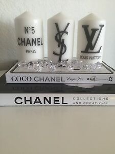 3 candles, Chanel, Ysl & Lv inspires candles Dallas Hume Area Preview