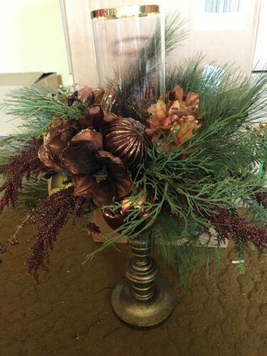 Frontgate Palazzo Christmas Candle Holders