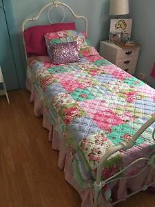 ADAIRS kids patchwork quilt cover single girls et reversible girl Mount Lewis Bankstown Area Preview