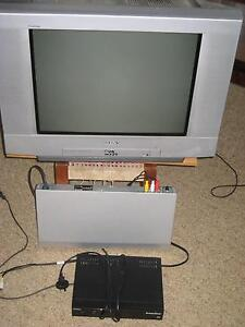 Colour TV plusCD/ DVD player and Set-top Box Woolooware Sutherland Area Preview