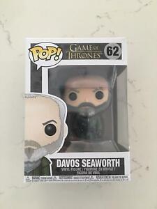 BRAND NEW Pop Vinyl: Game Of Thrones #62 Davos Seaworth