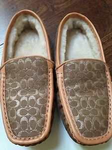 Authentic COACH Women's Slippers Loafers! Rare!