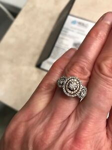 Trade or sale engagement ring