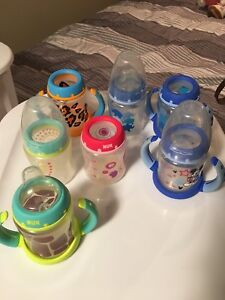 Nuk bottles/sippy cups