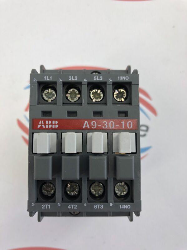 ABB CONTACTOR RELAY MOTOR CONTROL MODULE A9-30-10