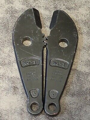 0312c H.k. Porter Jaws For Bolt Cutters No. 3 Capacity 916 Soft 716 Hard