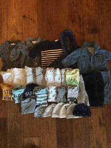 Boys 0-3 month clothing lot (Gap, Joe,Old Navy)