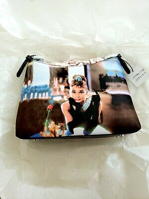 NWT Vintage Audrey Hepburn Breakfast At Tiffany's Rhinestone Handbag Purse Bag