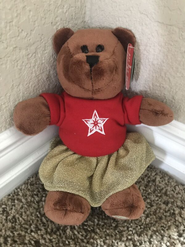 Starbucks Holiday 2018 Bearista Bear Girl New with tag 10 inch