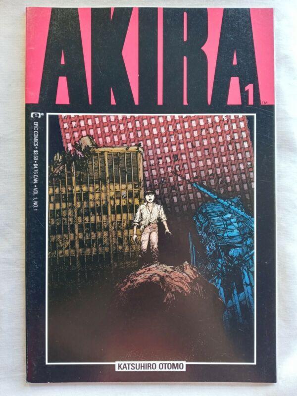 Akira #1 (Marvel/Epic Comics, 1988) 1st Print VF/NM 9.0 First Akira in English