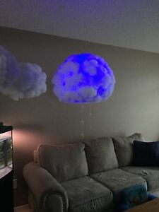 Colour changing multifunction LED cloud lamps