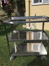 Stainless Steel Kitchen Trolley Scarborough Redcliffe Area Preview