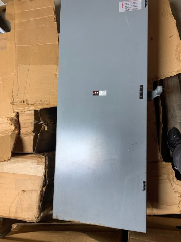 600 Amp Fusible Disconnect Heavy Duty Cutler Hammer 3 Poles