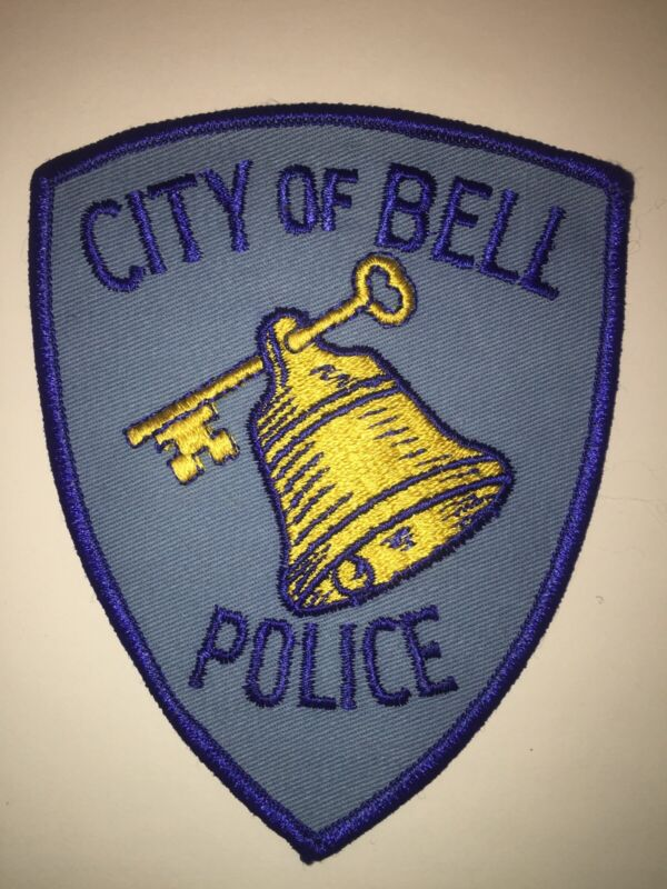 Old Bell California Police Patch
