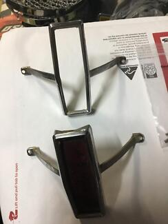 Eh Holden tail light chrome bezels x2 (excellent)