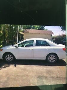 2013 Toyota Corolla 114000km only 5 speed