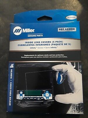 Miller Genuine 271319 Inside Cover Lens For Digital Infinity Series - Qty 5