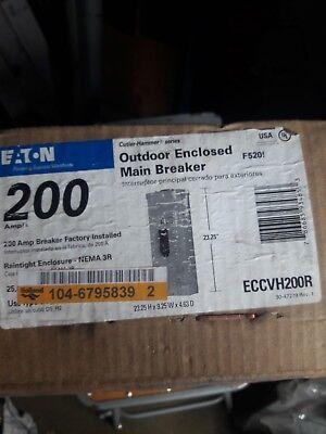- 1 NEW EATON CUTLER HAMMER  CC3200 200A 3 PHASE  NEMA 3R BREAKER ENCLOSURE