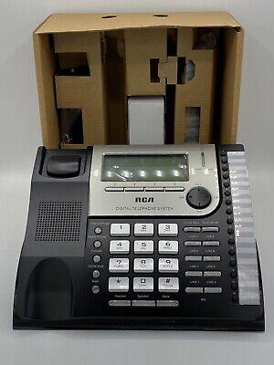 Telephone Rca 8-line Visys Corded Expansion Desk Phone 25825 Open Box New