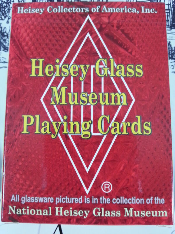 Heisey Collectors Card Deck w/ Heisey Patterns
