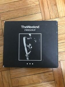 The weeknd - TRILOGY ALBUM