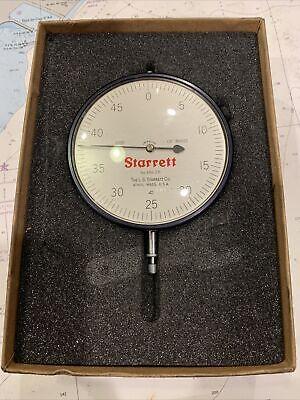 Starrett 656-231 Dial Indicator With Jeweled Bearing