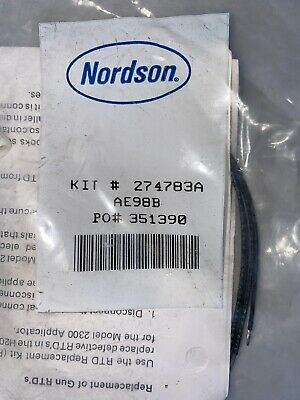 New Nordson 274783a Service Kit Gun Rtds Thermo Couple Replacement