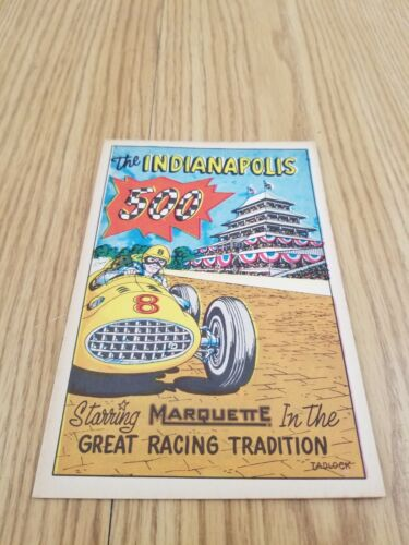 1957 INDIANAPOLIS 500 Official Race Program Comic Magazine - Vintage Rare Racing