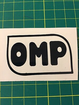 OMP  Sticker Vinyl Decal
