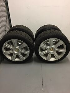 BMW winter tires and rim set