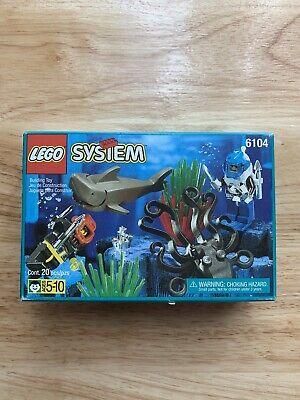 Vintage LEGO #6104 Aquacessories Complete (Unopened, W/Box) Rare HTF OOP