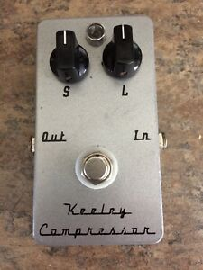 2 button Keeley Compressor