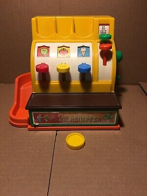 vintage Fisher Price cash register childrens toy