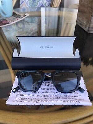 Warby Parker Easton 343 Sunglasses. New with case and cleaning (Easton Sun Glasses)
