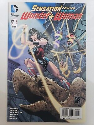 SENSATION COMICS WONDER WOMAN #1 (2014) ETHAN VAN SCIVER JOKER! HARLEY - Wonder Woman Vans