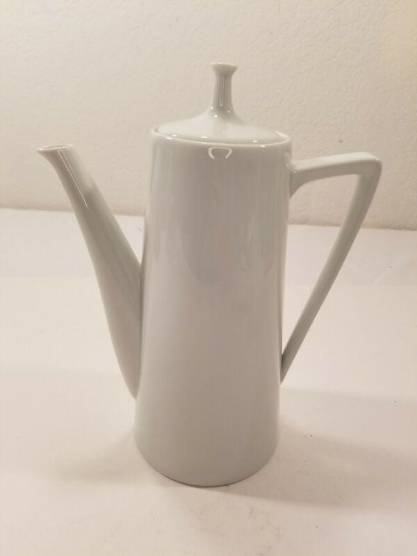 Coffee Pot Harmony House Classic White Porcelain