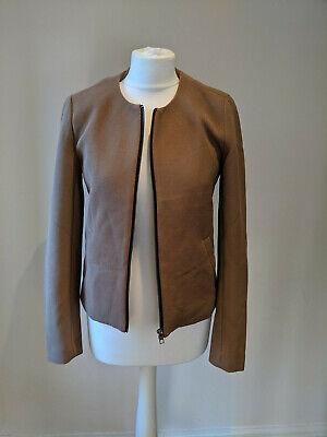 Jacqueline De Yong designer ladies collarless jacket small 8-10