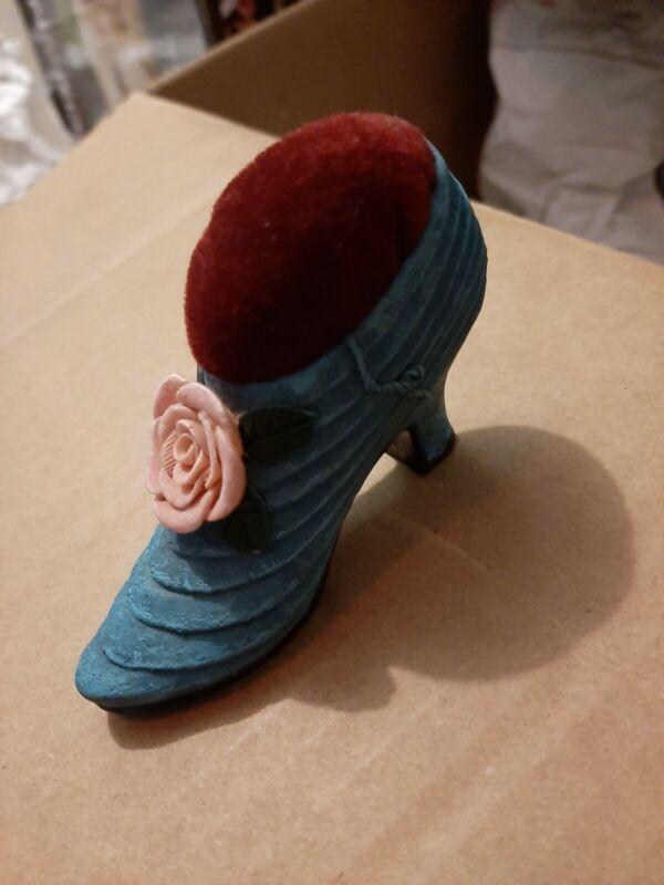 Antique Pincushion Shoe