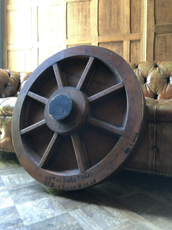 Large Antique Foundry Mold, Industrial Wood Foundry Mold, Factory Mold