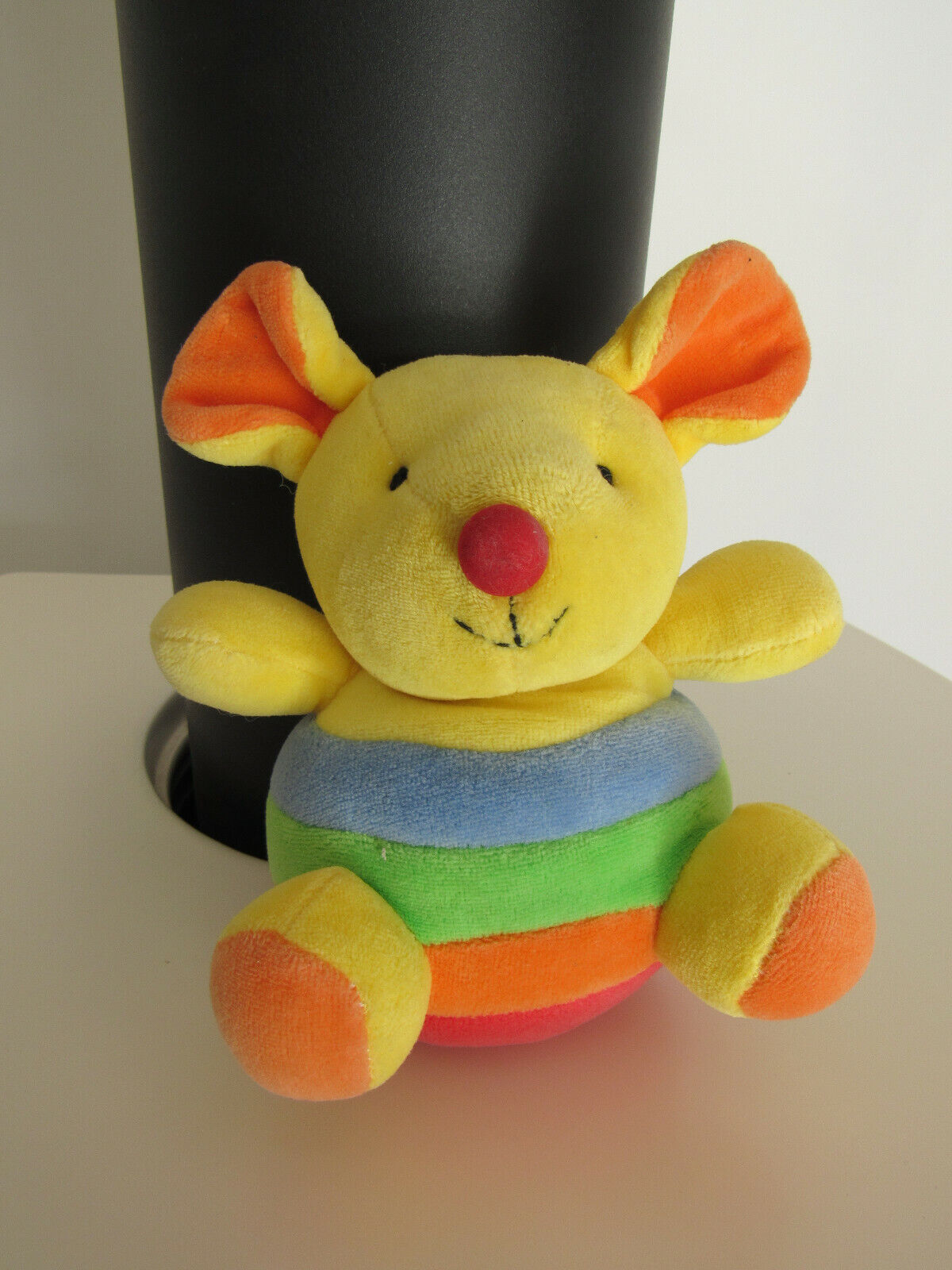 Peluche souris multicolore