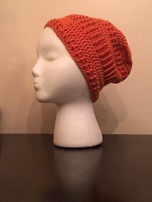 Handmade Hat   Poise And Envy  Ravelry   Terrain  In Tangerine