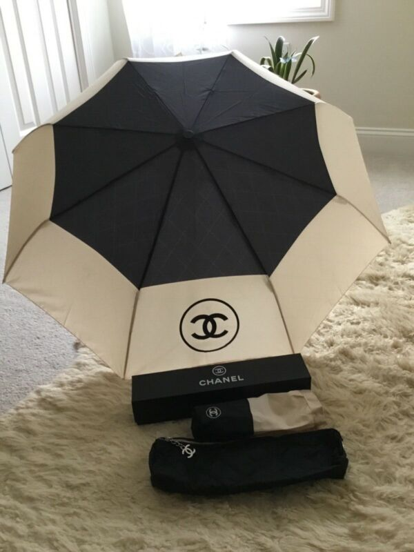 Chanel umbrella with crossbody bag. VIP gift with purchase.