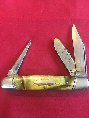 Vintage Ulster 3 Blade Stockman