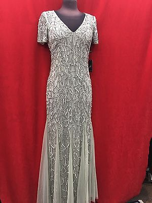 ADADRIANNA PAPELL DRESS/SIZE10/LONG GOWN/RETAIL$369/NEW WITH TAG/NORDSTORM DRESS
