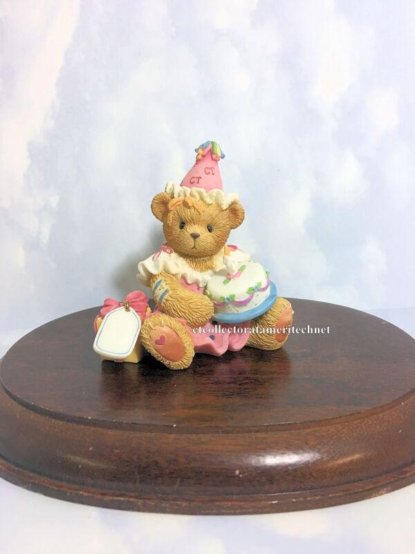 Cherished Teddies Birthday May All Your Birthday... 2002 NIB