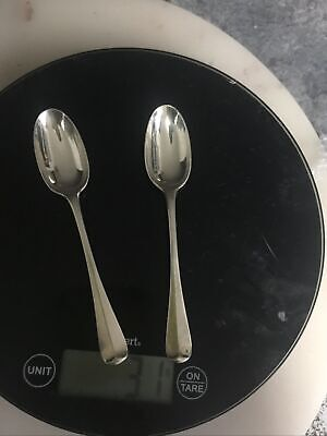 Antique Victorian Sterling Silver Spoons 1884 London