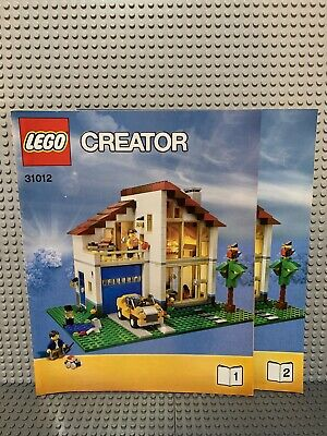 LEGO Creator Family House 31012 Used 100% Complete All Pieces