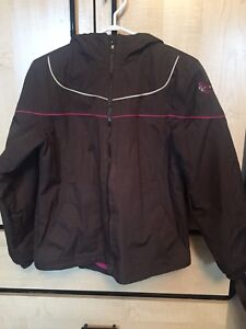 Girl's Brown Sportek Fall Jacket